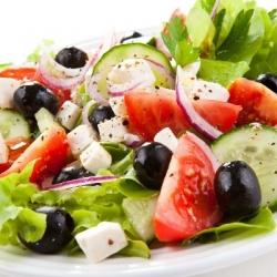 САЛАТ с овощами и Фетой